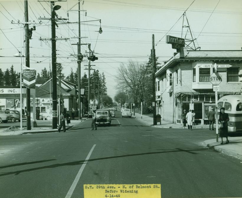 39th & Belmont, 1949