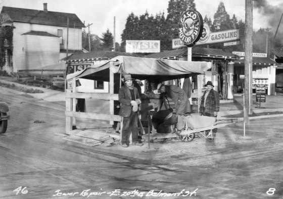 20th & Belmont, 1931