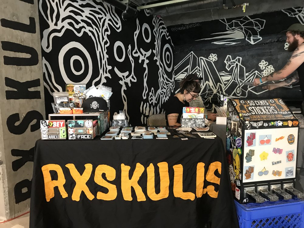 Tiffany Conklin @pdxeveryday - RxSkulls Booth.JPG