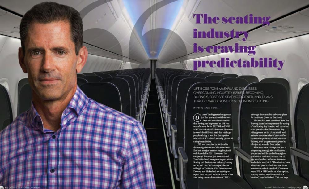 Aircraft Interiors Int'l - June 2016