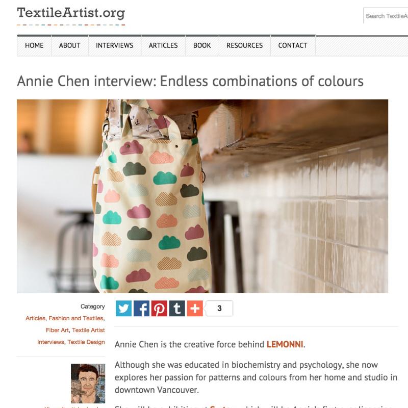 Interview - TextileArtist.org