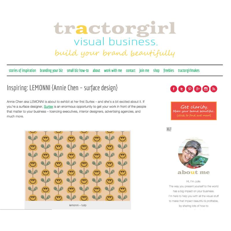 Tractorgirl Blog
