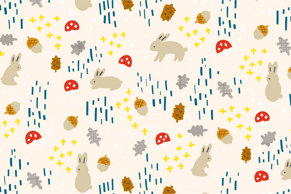 Woodland Bunny-cream