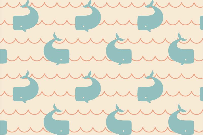 Whales-cream