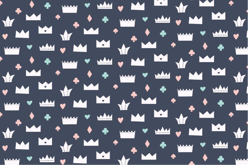 Circus Crowns-navy