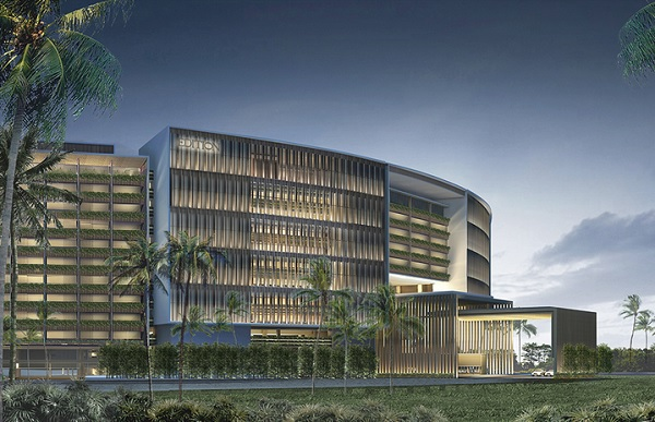 Rendering of the Sanya EDITION Hotel, due to open in 2016