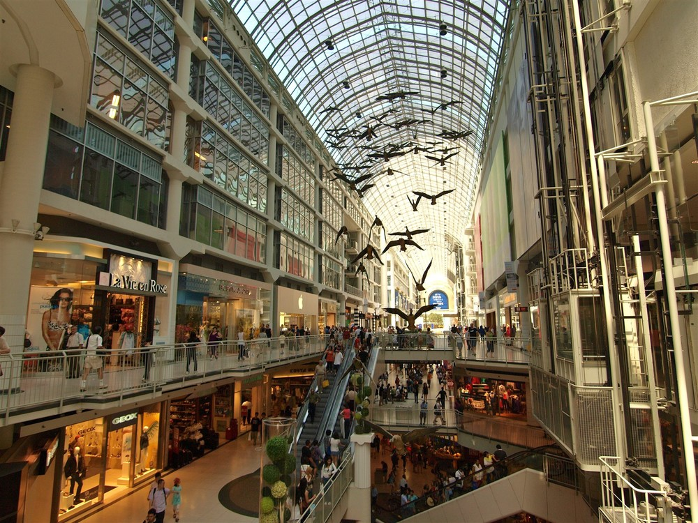 Inside The Eaton Centre