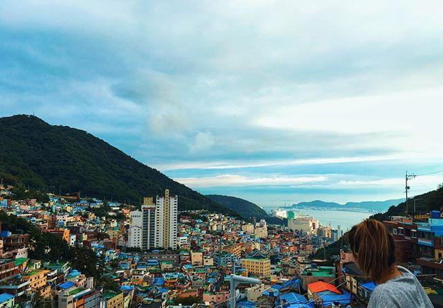 Hello, Gorgeous. 😍 #WearWeWentinKorea #gamcheonculturalvillage