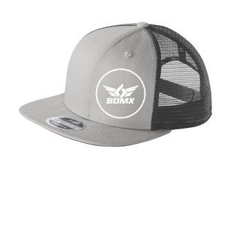 e9b9f121 Mesh Flat Bill Snapback Hat — Black Diamond MX Graphics