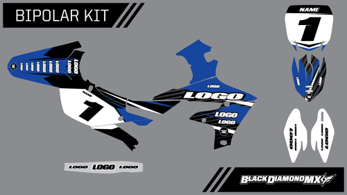 BIPOLAR Semi Custom Yamaha Graphic Kit