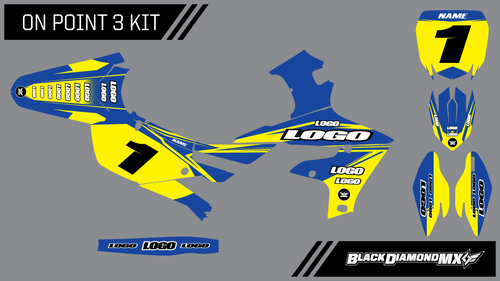 ONPOINT3 Semi Custom Yamaha Graphic Kit