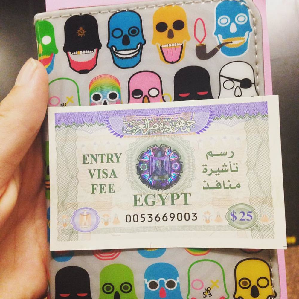 Pretty Egyptian visa 😍