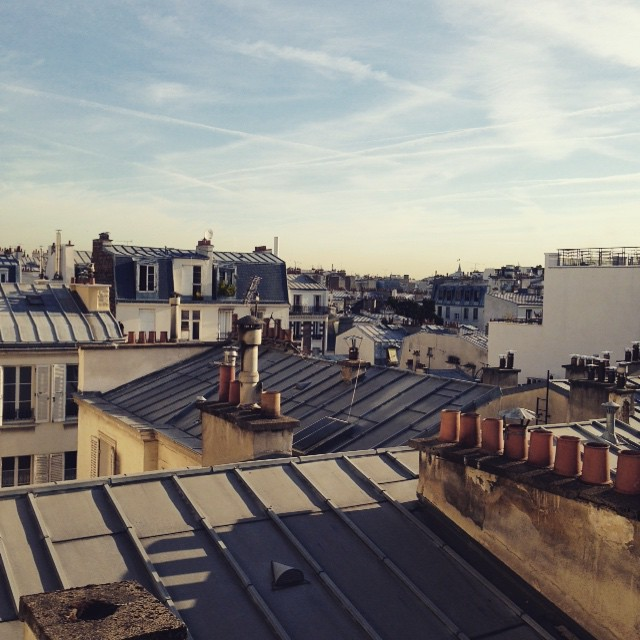 #GoodMorning #Pari 🌞🔝👌🏽 #Rooftops for daze