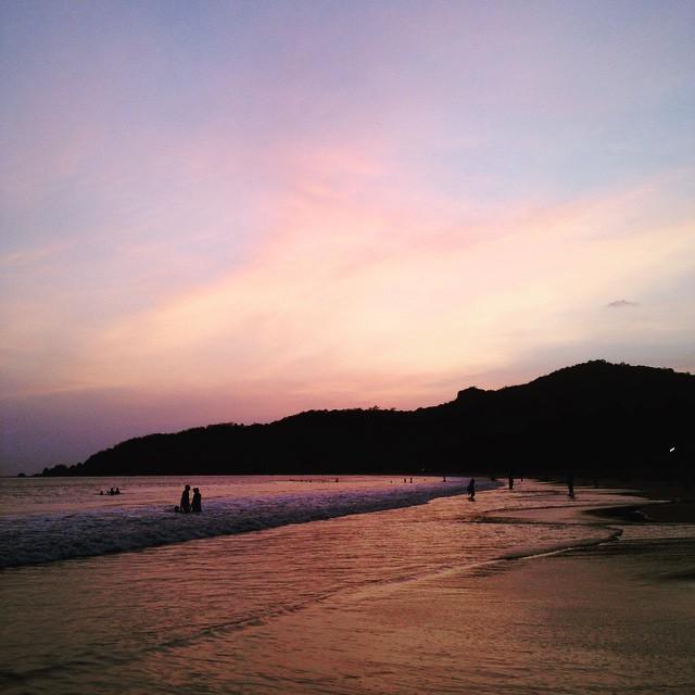 Goan Sunsets✌🏾️🌅🌴 #Incredibleindia