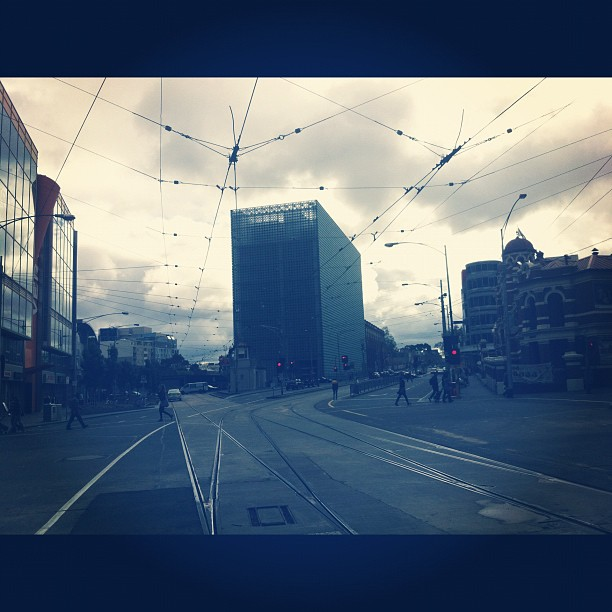 Melbourne Town (Taken with  instagram )