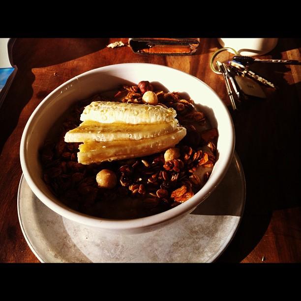 Morning Porridge  (Taken with  instagram )