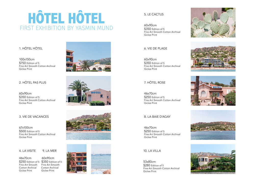 Hotel Hotel catalogue
