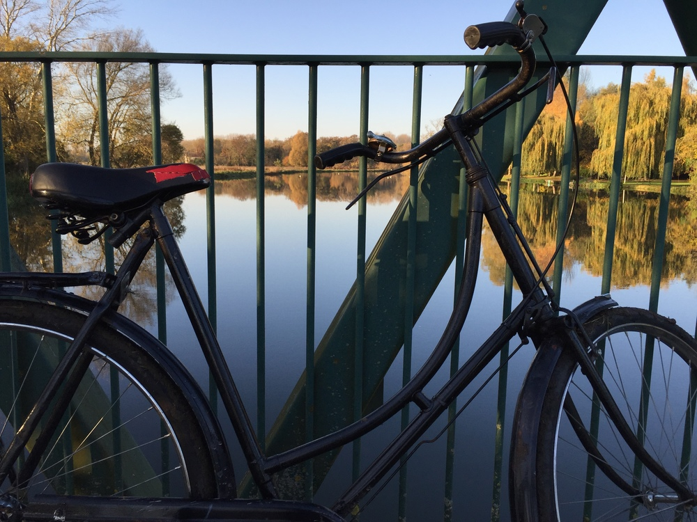 Old bikes make sturdy companions for the unpredictable terrain of river cycling