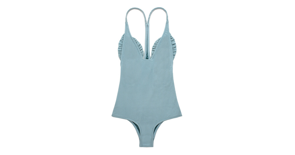 Shop Traveler One Piece Misty Blue Rib
