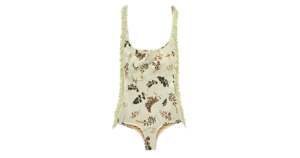 Petal 2 One Piece with Fringe