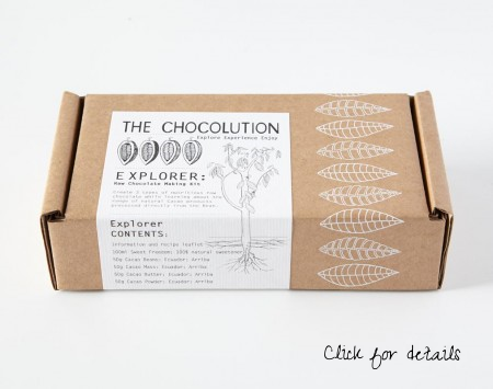 Make bespoke raw chocolate at home, spiced up with your own additions.