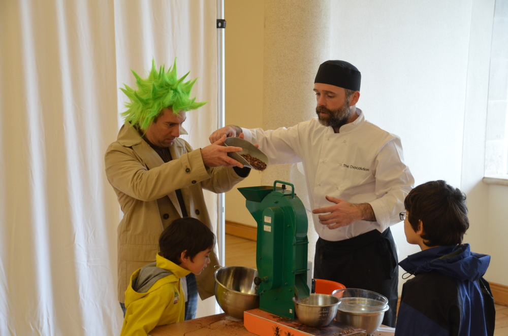 Chocolate workshops provide a hands-on experience to guests of all ages.