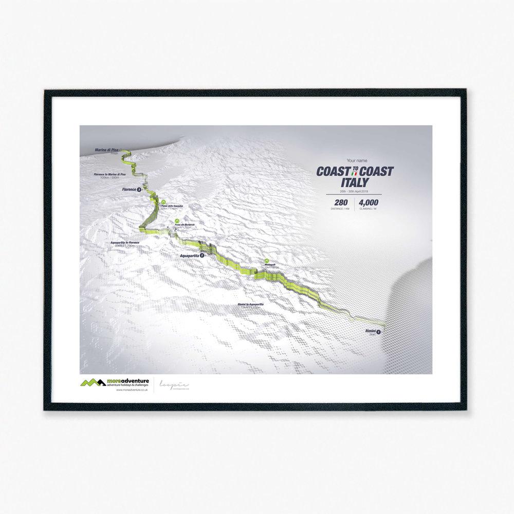 Italy C2C - 280km / 4,000m climbing