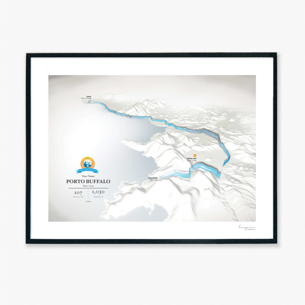 Single day - Buy individual stage prints of your Greek Cycle Holidays adventure