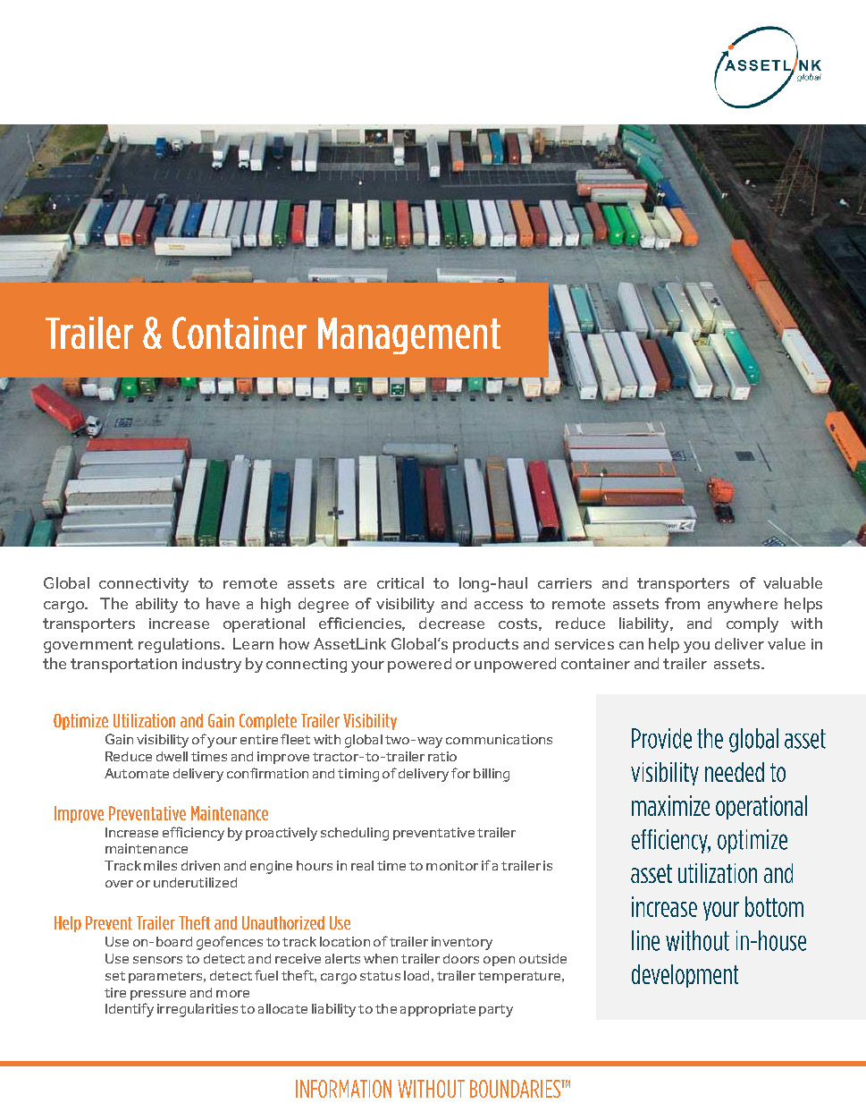 Trailer & Container Management