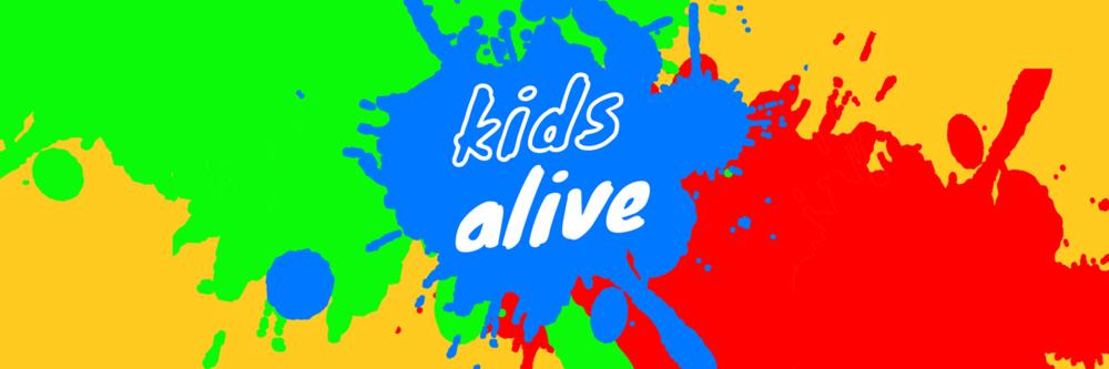 kids alive banner