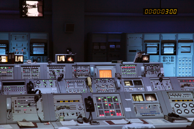 Kennedy Space Centre: : Original Launch Control Room