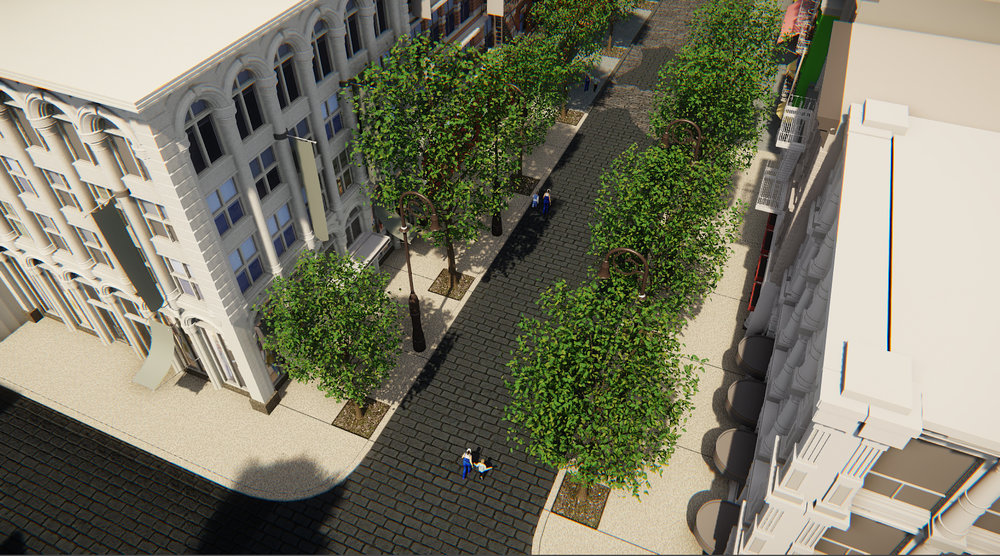 Iteration of Main Street (CryEngine)