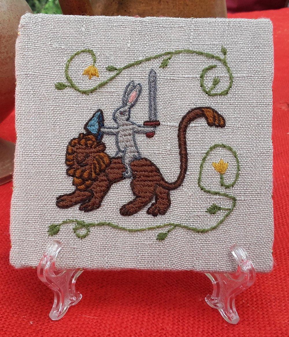 Medieval Bunny Adventures: Sir Bun rides out