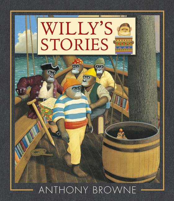 Willy And The Cloud Anthony Browne Books