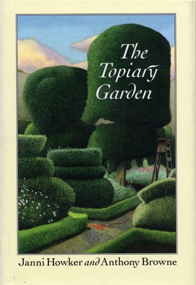 Written by Janni Howker, 1993   One of the most remarkable short stories in Janni Howker's Badger on the Barge is The Topiary Garden. It is the evocative, timeless story of Sally Beck, and   the circumstances which led her to become Jack, the gardener's boy, working amongst the topiary bushes of a great country house garden. This powerful story has such impact for readers of any age that we are publishing it in a separate edition, with specially commissioned full colour paintings by Anthony Browne