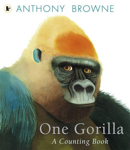 2012   Count from one to ten with apes and primates. What better attention-getter for small children than primates in all their variety? And who better to render them than Anthony Browne? In this   elegant counting book, the author-illustrator outdoes himself with a vivid presentation of primates from gorillas to gibbons, macaques to mandrills, ring-tailed lemurs to spider monkeys. With his striking palette, exquisite attention to detail, and quirky flair for facial expressions, Anthony Browne slyly extends the basic number concept into a look at similarities and differences - portraying an extended family we can count ourselves part of. It encourages early numeracy through Anthony Browne's beautiful artwork. It carries an important message about protecting our environment.