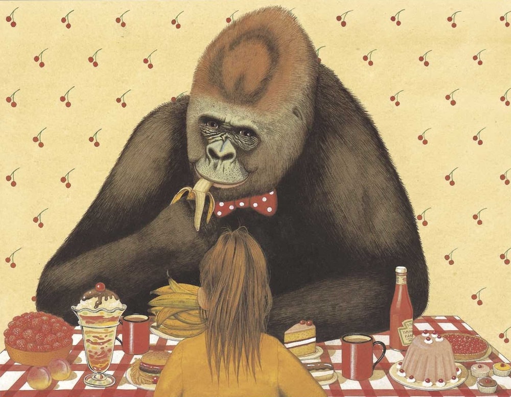 An illustration from  Gorilla,  1983