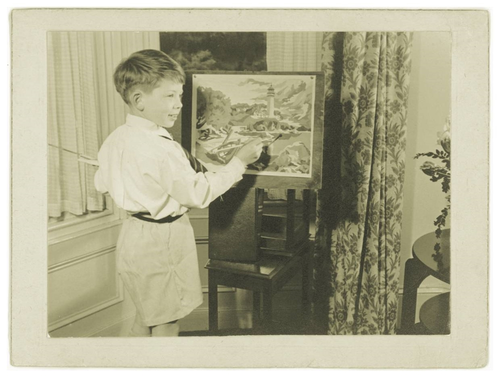 Already painting by numbers... 1953