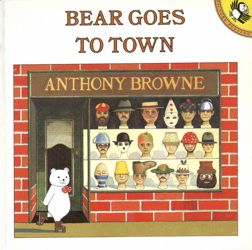 1982 This classic children's book features a very clever white bear and his magic pencil. Everything Bear draws becomes real. When his friend Cat is captured along with other animals, it is up to Bear to rescue them all. Anthony Browne combines beautiful illustrations with strong text to create a delightful picture book for all children who love bears, particularly magic ones. Currently out of print