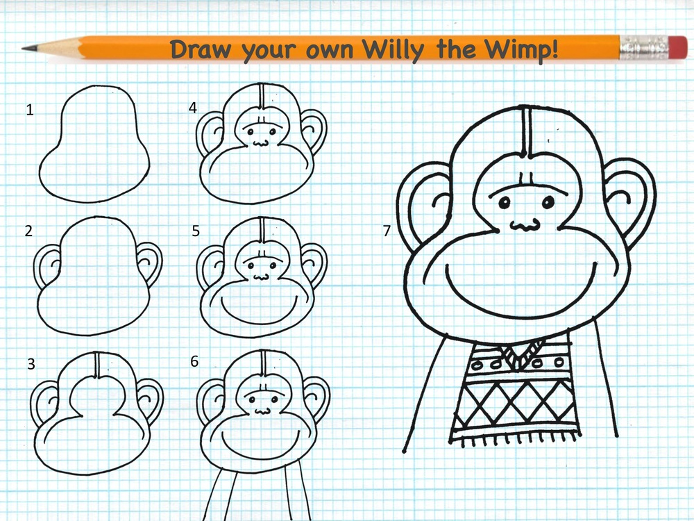 Draw your own Willy the Wimp