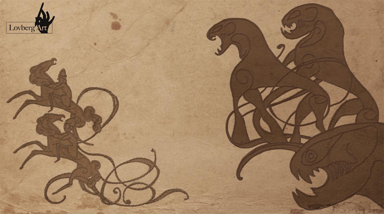 Viking art lea lovberg