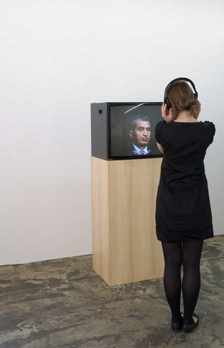 "Trei Culori, 2008 , video loop, 3'25"" /  more"