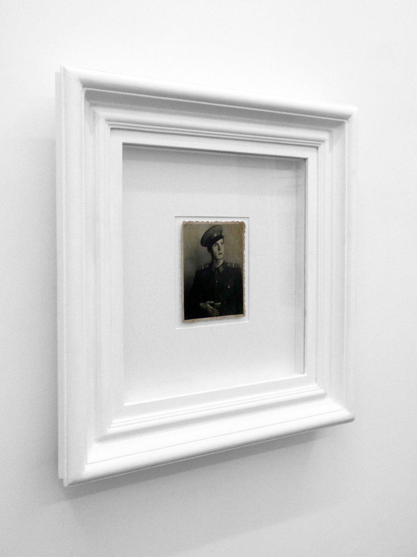 Soldier, 2009,46 x 43 x 6,5 cm