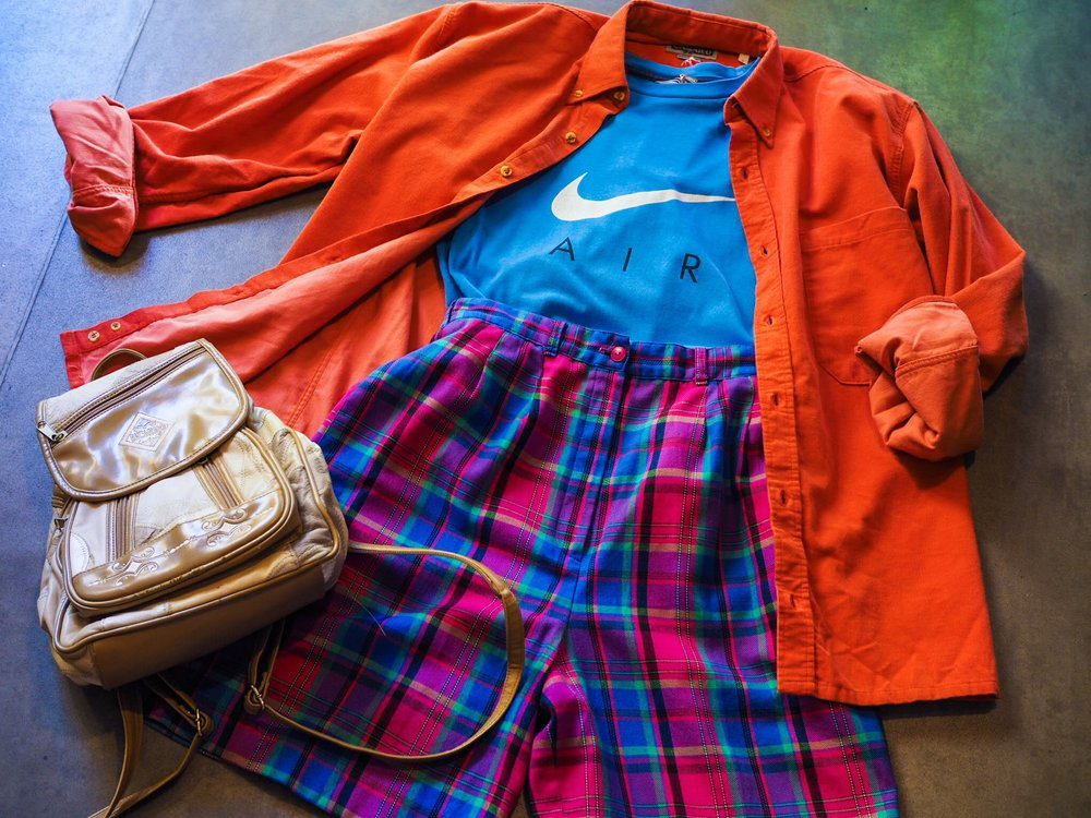 If you're going to take a tee with you to a festival make it something that can bring a pop of colour to any outfit. This bright blue Nike Air tee is the perfect pick, complementary to oranges, pinks and purples. Throw in a pair of light tartan shorts (with pockets), a rucksack for all those important bits and bobs: festival phone, hand sanitizer, dry shampoo and all.