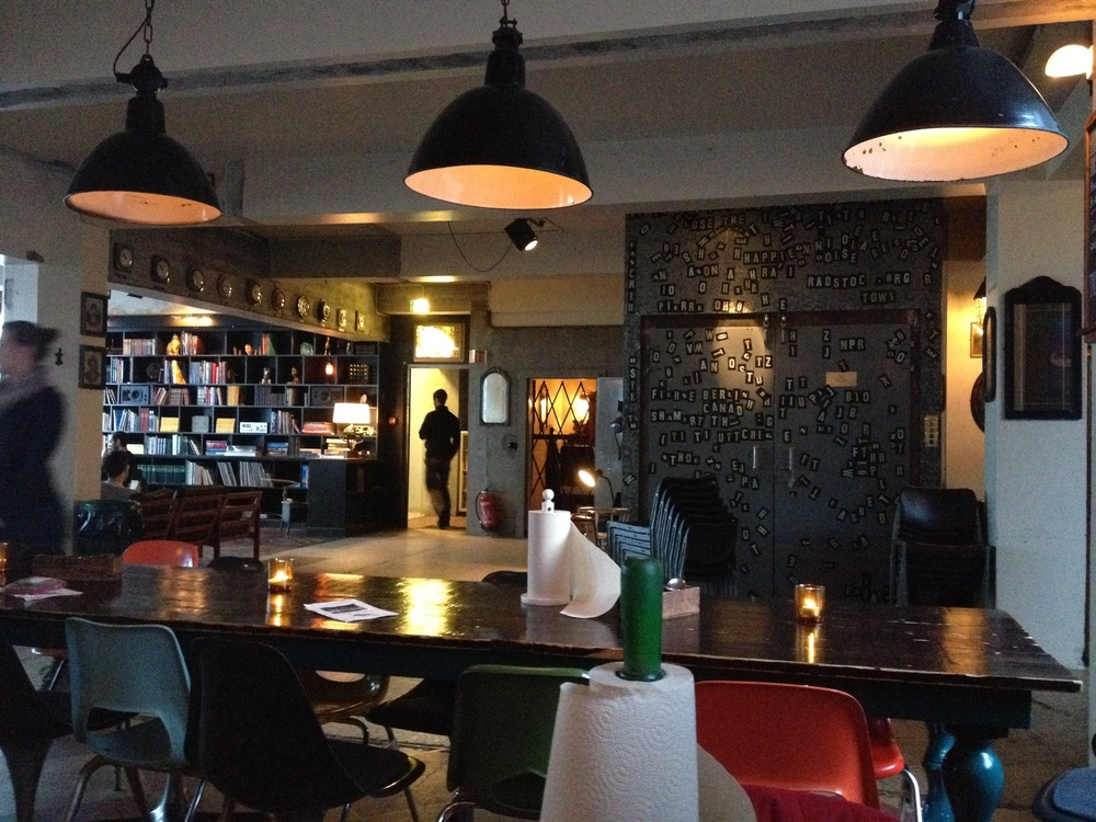 Kex Hostel - Great place for a bite, beer and chat.