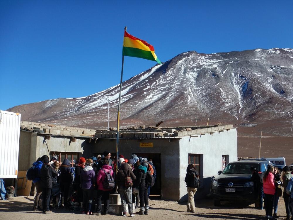 Chile Bolivia Border Bolivia Chile Border