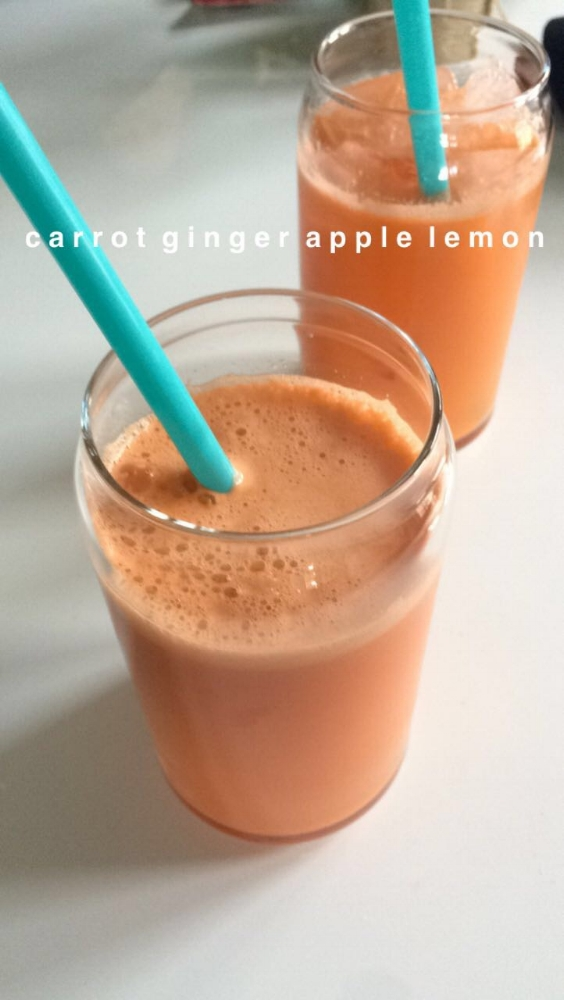 carrot, ginger, apple, lemon. juice recipes.