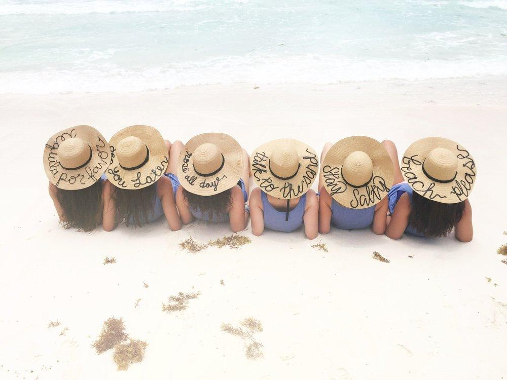 sun hat DIY