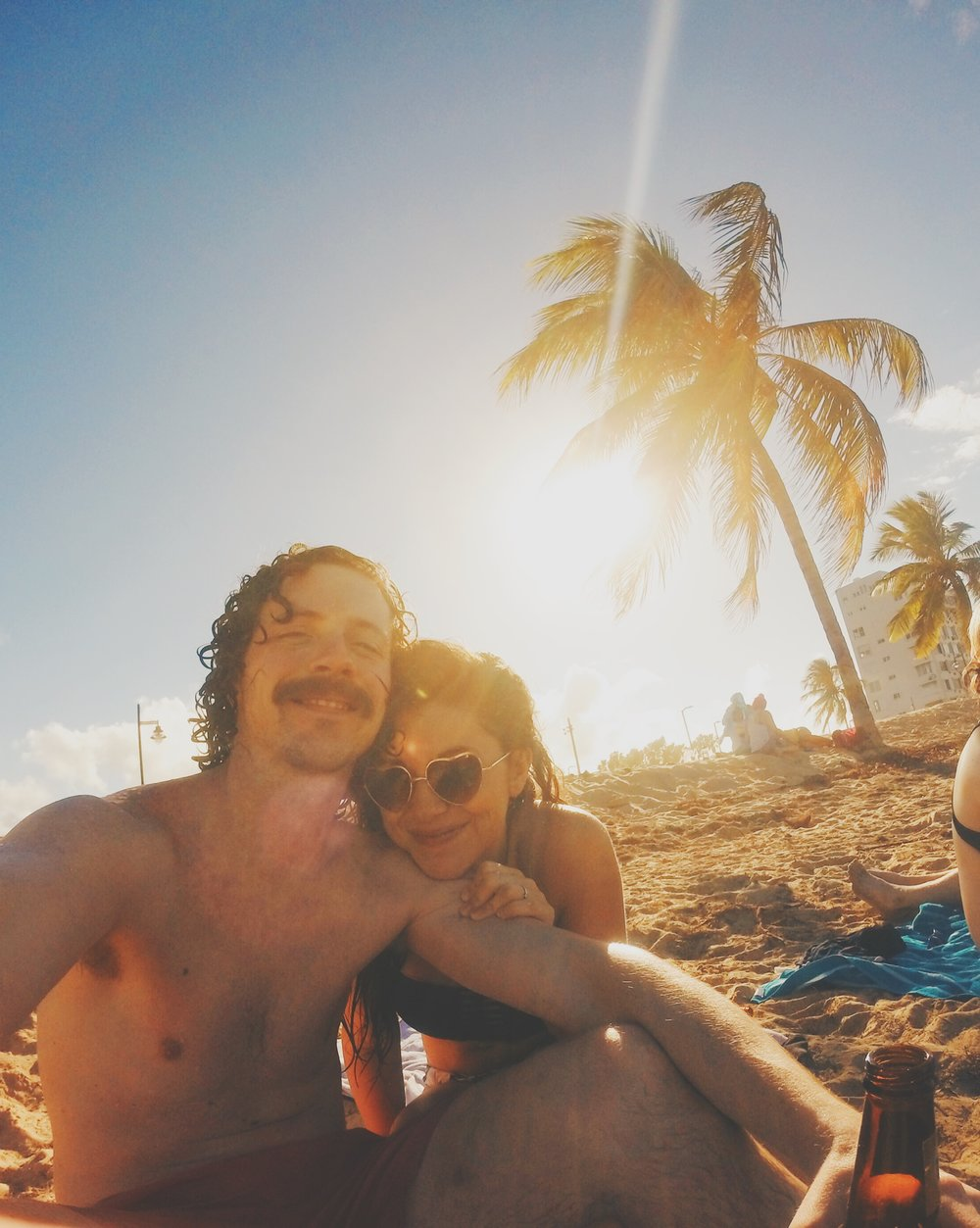 Ocean Park Beach Puerto Rico