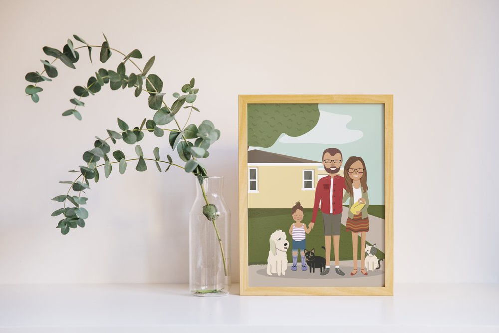 Kelsey Davis Design family portraits